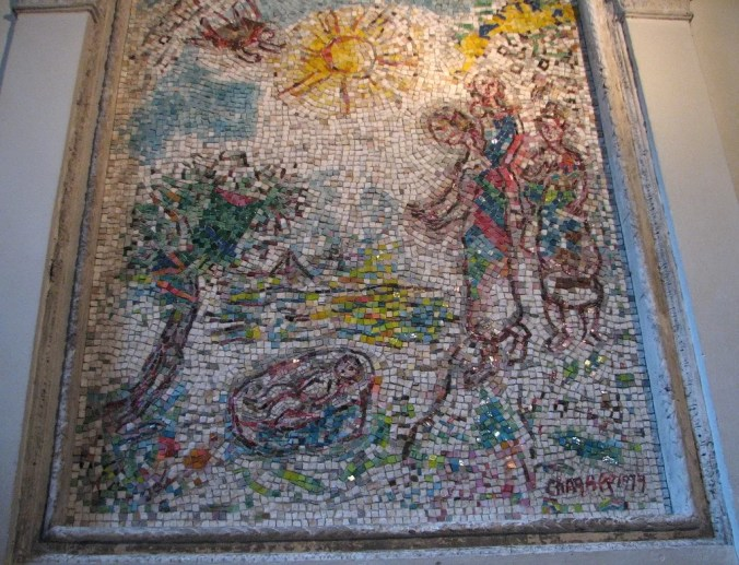 Vence Tourism - Chagall Mosaic in the Notre Dame Cathedral