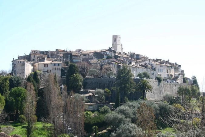 Medieval town Saint Paul de Vence - Vence travel