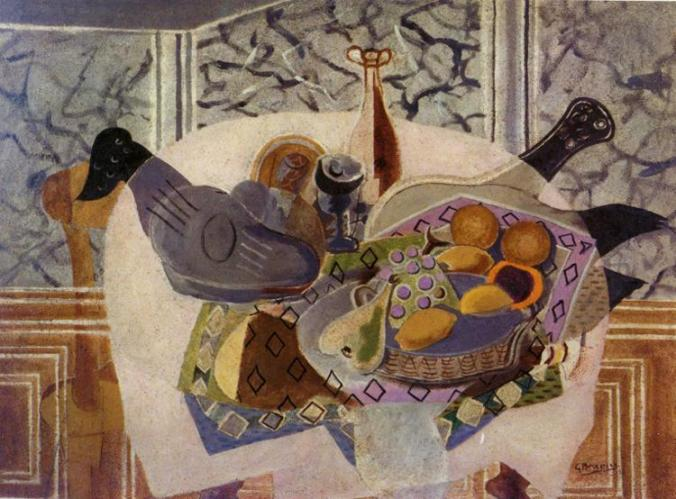 Georges Braque paintings - Still life