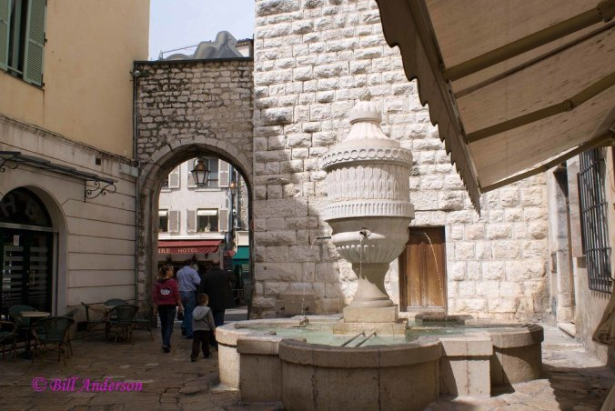 Historical Vence, France
