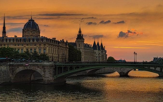 Sailing the River Seine Paris