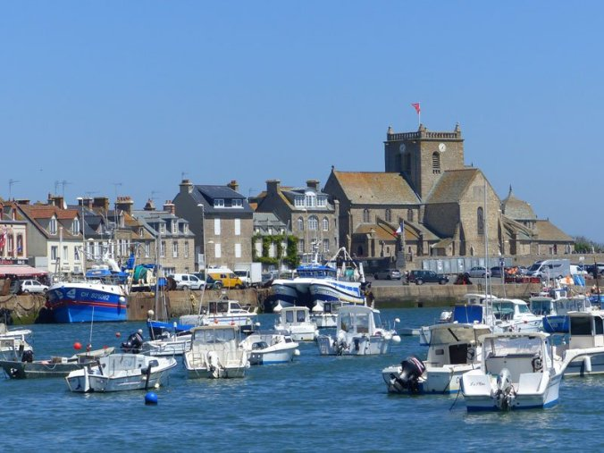 Barfleur town and harbour