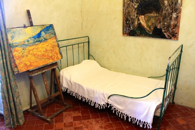 Van Gogh's bedroom in  St. Paul de Mausole
