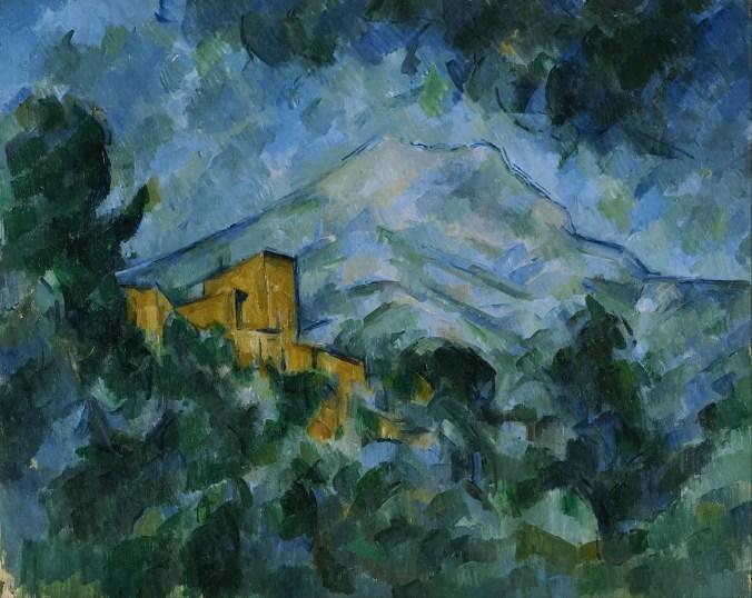 Mont Sainte Victoire  - Paul Cezanne Painting
