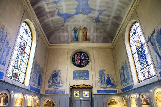 The Chapel inside the Musee Maurice Denis, Saint Germain en Laye, France / License © All rights reserved by isogood