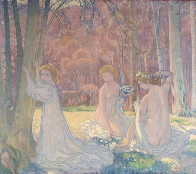 Maurice Denis Painting - Symbolism art