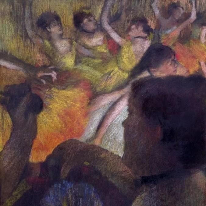 Degas Impressionism artwork of Ballet Dancers - Pastels