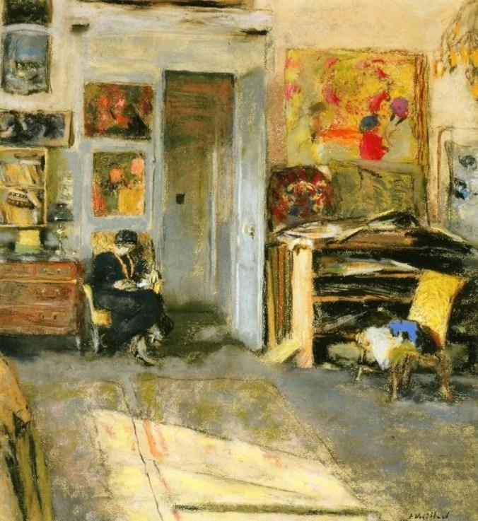 Madame Hessel - Edouard Vuillard Paintings