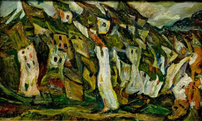 The Houses - Chaim Soutine paintings [Public Domain]
