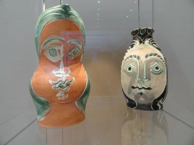 Picasso ceramic vases