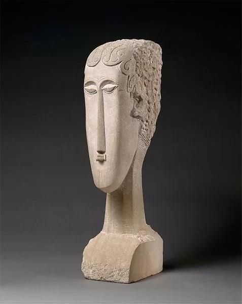 Modigliani African Statue