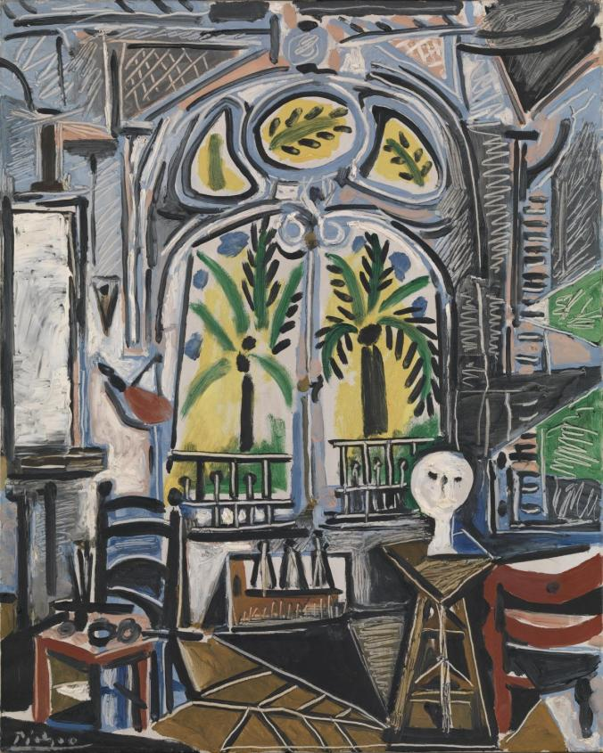 The Studio - Pablo Picasso Painting
