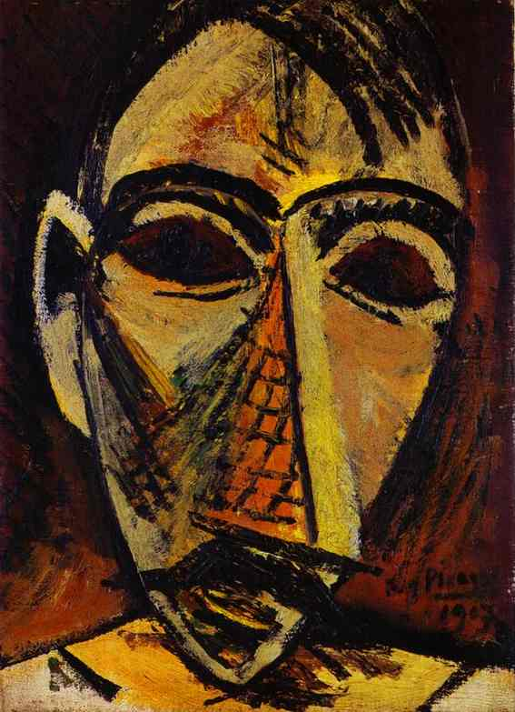 Pablo Picasso Painting from African Period