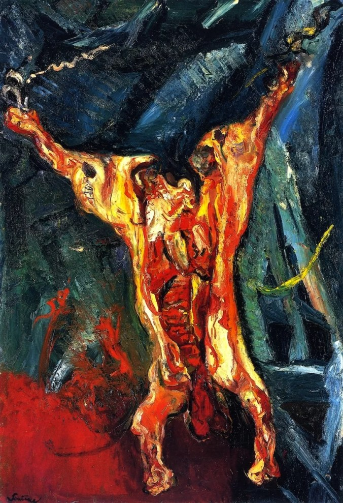arcass of Beef - Chaim Soutine Painting [Public Domain]