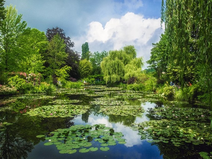 Claude Monet's Lily Pond - Giverny