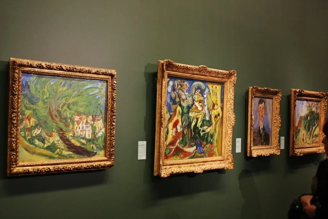 Post-impressionists paintings at the Musee Orangerie
