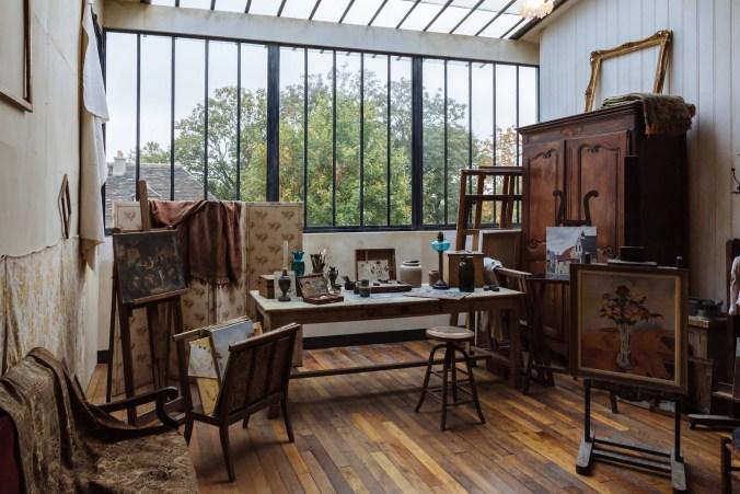 Suzanne Valadon's apartment & painting studio