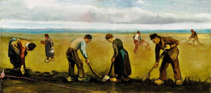 Peasants in Nuenen - Van Gogh Painting