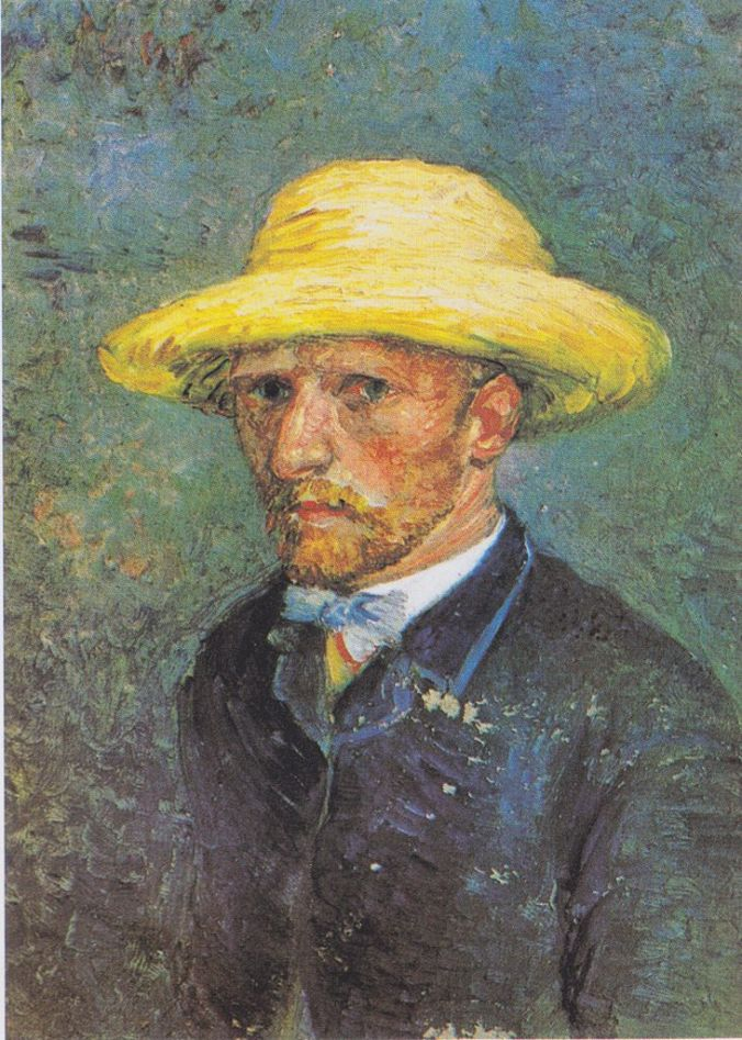 Portrait of Theo Van Gogh by Vincent Van Gogh