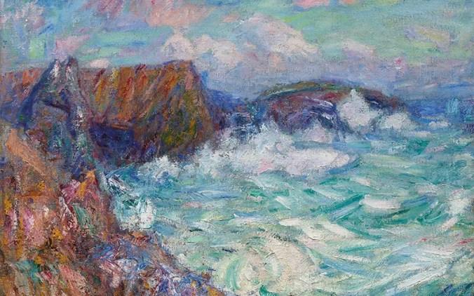 Belle-Ile-en-Mer painting by John Russell