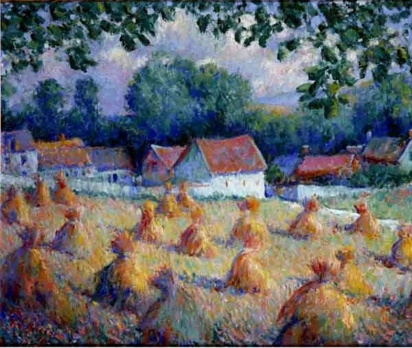 Theodore Earl Butler impressionism painting