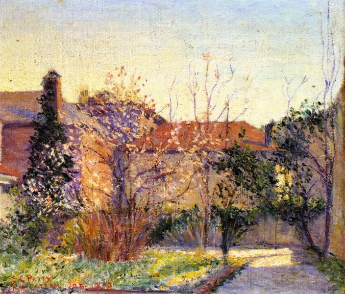 Lilla Cabot Perry Landscape - A Peach Tree