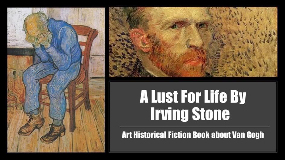 Art Historical Fiction Book about Van Gogh