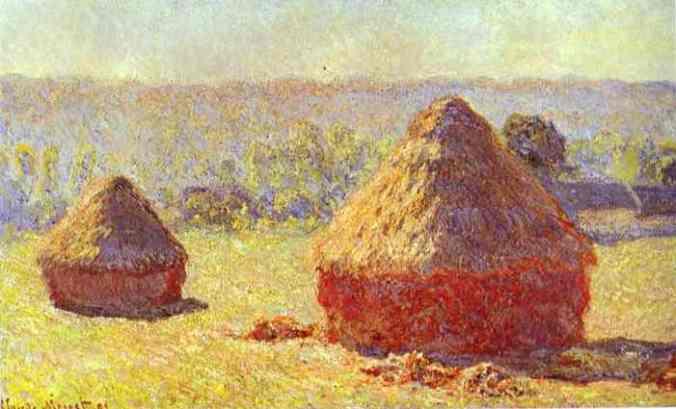 Claude Monet Posters of Haystacks