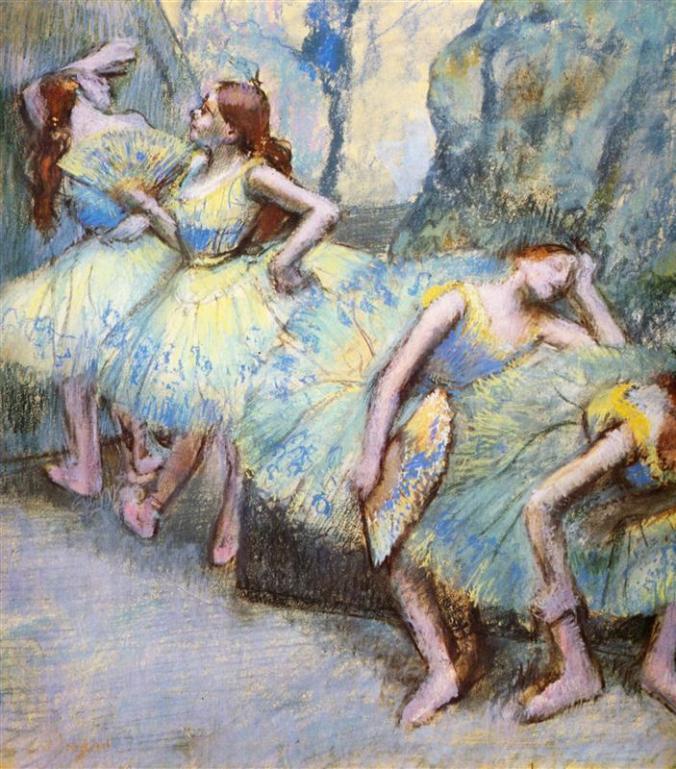 Edgar Degas Artworks of Ballet Dancers