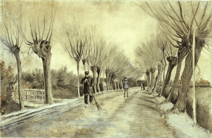 Vincent Van Gogh drawings from his early years