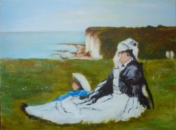 Impressionism painting by Berthe Morisot