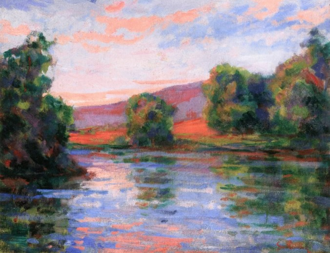 Armand Guillaumin painting