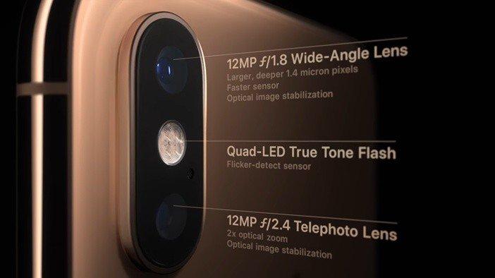 Двойная камера iPhone Xs что нового