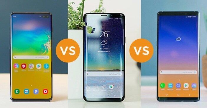 S10 Plus против S9 Plus против Note 9