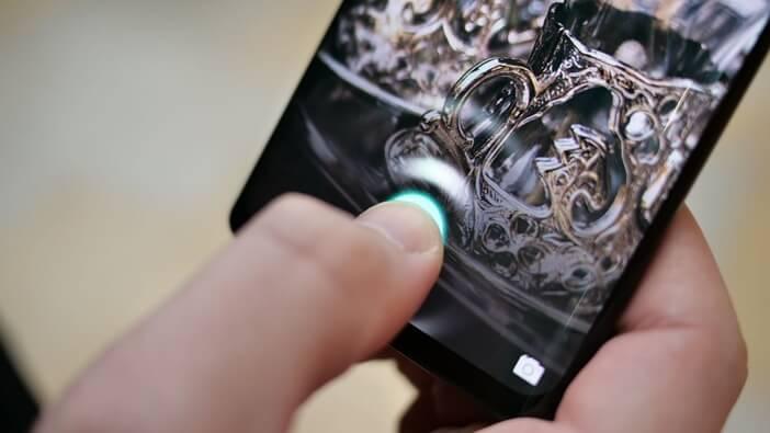 Оптический сканер отпечатков в Huawei P30