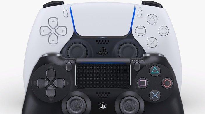 PS5 DualSense и PS4 DualShock 4 - сенсорная панель
