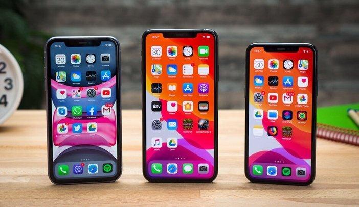 Текущие версии Apple iPhone