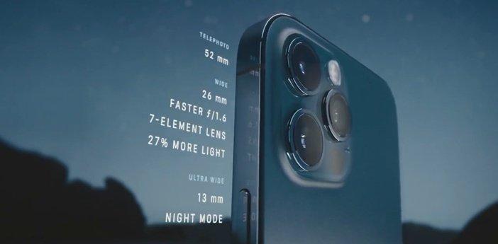 Характеристики камеры iPhone 12 Pro