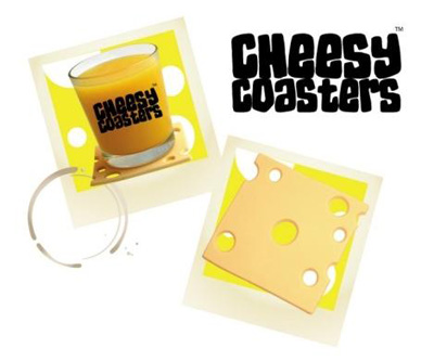 Cheesy Coaster