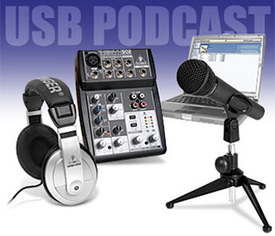 USB Podcast Kit