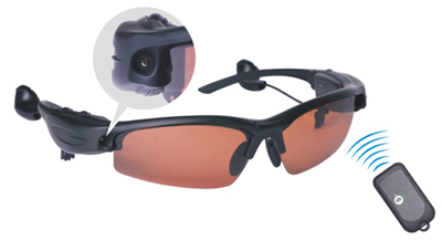 Hi-Tech Spy Camera MP3 Sunglasses