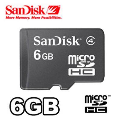SanDisk 6GB Memory Card