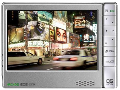 Archos 605 Wi-fi Portable Media Player