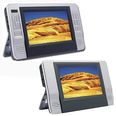 Curtis Dual 7″ Screen Portable DVD Player