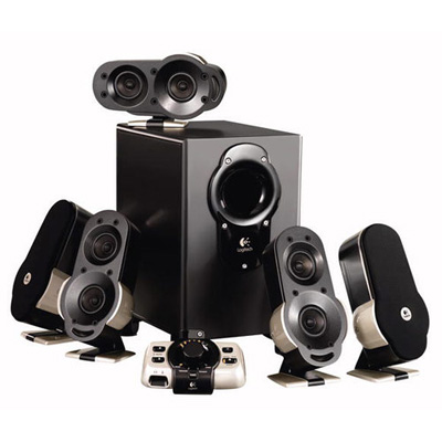 Logitech G51 Gaming Surround Speaker System