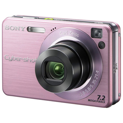 Sony Cyber-shot DSC-W120P Digital Camera