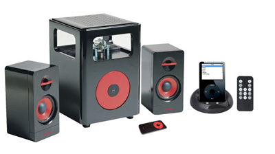 i-STEROID 2 2.1 iPod Speaker System