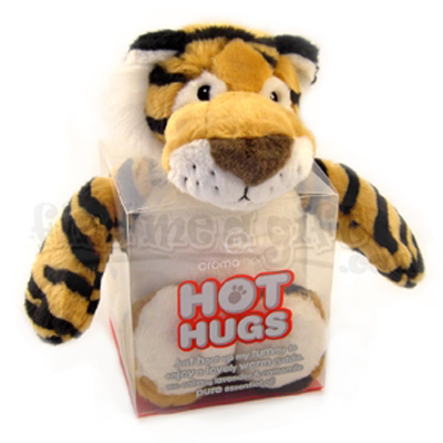 Tiger Hot Hugs - A Great Cozy Playmate You Won't Want To Put Down