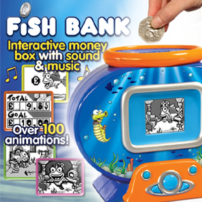 Fish Money Bank