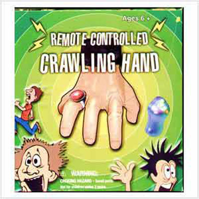 Remote Controlled Crawling Hand